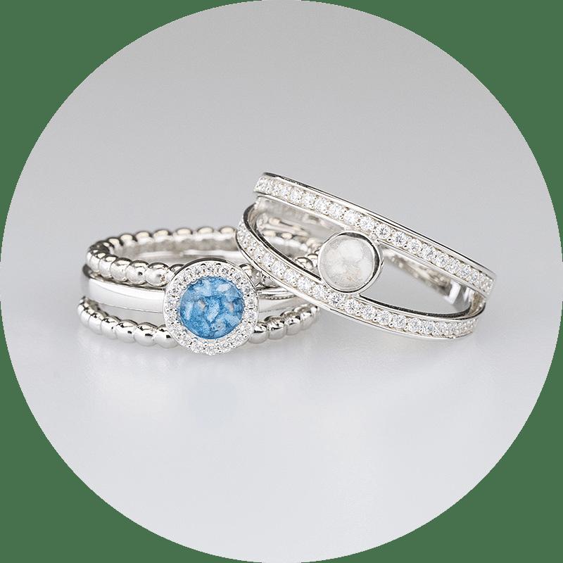 Zilveren/gouden Ringen